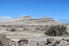 Paisaje en Ischigualasto Imagen de archivo libre de regalías