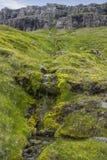 Paisaje en Islandia Imágenes de archivo libres de regalías