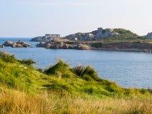 Paisaje en la isla de Guernesey Imagen de archivo libre de regalías