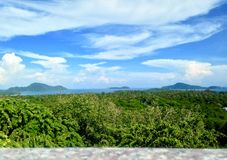 Paisaje en la provincia de Phuket Fotos de archivo