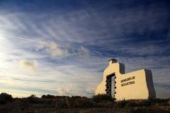 Paisaje en la puesta del sol Fotografía de archivo libre de regalías