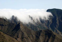 Paisaje en las islas Canarias Foto de archivo libre de regalías