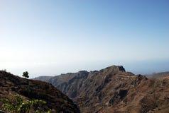 Paisaje en las islas Canarias Fotografía de archivo libre de regalías