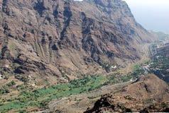Paisaje en las islas Canarias Foto de archivo