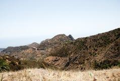 Paisaje en las islas Canarias Fotografía de archivo