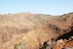 Paisaje en las islas Canarias Imagen de archivo libre de regalías