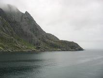Paisaje en las islas de Lofoten fotos de archivo libres de regalías