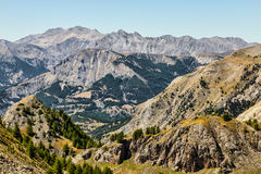 Paisaje en las montañas Fotos de archivo
