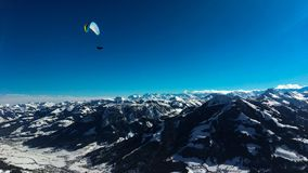 Paisaje en las montañas austríacas foto de archivo