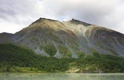 Paisaje en las montañas de Altai, julio de 2016 Foto de archivo