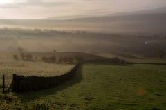 Paisaje en luz de la mañana Imagen de archivo libre de regalías