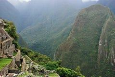 Paisaje en Machu Picchu en Perú foto de archivo libre de regalías