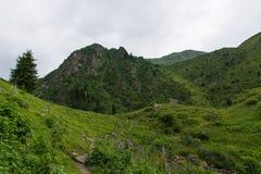 Paisaje en montañas Fotos de archivo