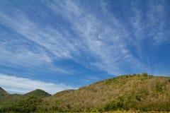 Paisaje en montañas Foto de archivo