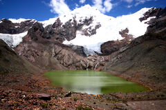 Paisaje en Perú Imagenes de archivo