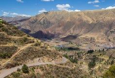 Paisaje en Perú Fotos de archivo