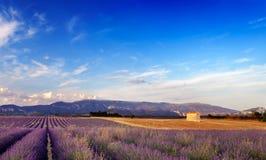 Paisaje en Provence, Francia fotos de archivo