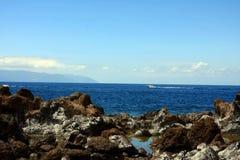 Paisaje en Puerto Santiago Imágenes de archivo libres de regalías