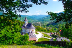 Paisaje en Rumania Imagen de archivo libre de regalías