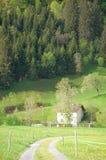 Paisaje en Suiza Fotografía de archivo libre de regalías
