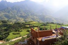 Paisaje en Vietnam Foto de archivo libre de regalías