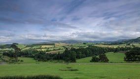 Paisaje escénico de Cumbria en Reino Unido almacen de metraje de vídeo