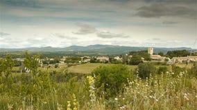 Paisaje escénico de Languedoc, Francia del sur metrajes