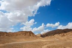 Paisaje escénico del desierto Imagen de archivo libre de regalías