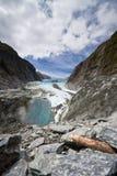 Paisaje escénico en Franz Josef Glacier Fotografía de archivo