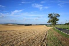 Paisaje escénico en Thueringen, Alemania Imagen de archivo