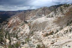 Paisaje escénico en Utah, espina dorsal del ` s del infierno, los E.E.U.U. Imagenes de archivo