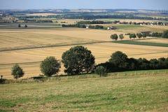 Paisaje escénico en Westfalia, Alemania Fotografía de archivo libre de regalías