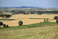 Paisaje escénico en Westfalia, Alemania Foto de archivo
