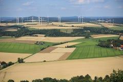 Paisaje escénico en Westfalia, Alemania Fotos de archivo