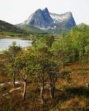 Paisaje escandinavo Imagen de archivo libre de regalías