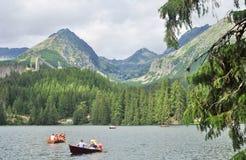 Paisaje Eslovaquia Foto de archivo libre de regalías