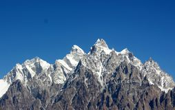 Paisaje espectacular de la monta?a imagenes de archivo