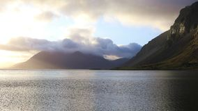 Paisaje fantástico de Islandia almacen de metraje de vídeo