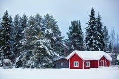 Paisaje finlandés estupendo hermoso Fotografía de archivo