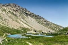 Paisaje francés de la montaña Fotos de archivo