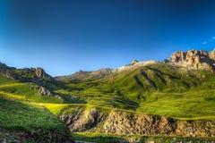 Paisaje francés de la montaña Imagen de archivo libre de regalías