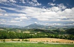 Paisaje francés de Provence Imagen de archivo libre de regalías