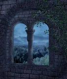Paisaje gótico 32 stock de ilustración