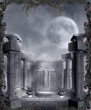Paisaje gótico 78 Imagen de archivo libre de regalías