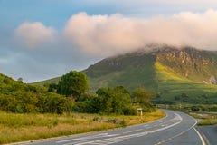 Paisaje Galés en Llyn Peninsula Imagen de archivo libre de regalías