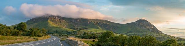 Paisaje Galés en Llyn Peninsula Foto de archivo libre de regalías