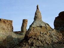Paisaje geológico de la meseta Foto de archivo