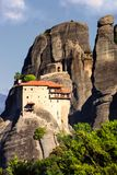Paisaje Grecia Europa de la montaña de la roca de Meteora Fotografía de archivo