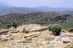 Paisaje griego Fotografía de archivo libre de regalías