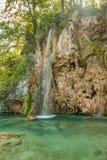 Paisaje hermoso con la cascada Fotografía de archivo